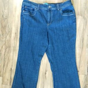 Just My Size Modern Boot Cut Jeans 20W Short Blue